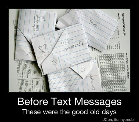 may seem old fashion but still more personal than today's text messages ;p: Childhood Memories, Passing Notes, Funny Stuff, Text Messages, Memory Lane, High Schools
