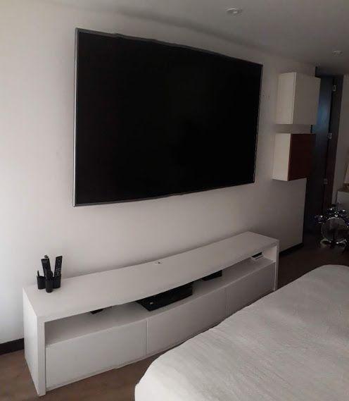 Instalacion De Tv 86 Soporte Para Televisor Soportes Para Tv Televisores En La Pared