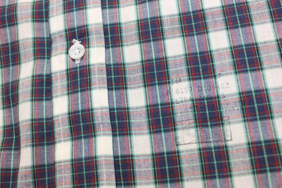 vintage 1970's ENRO Men's short sleeve shirt. Button by StyleStash
