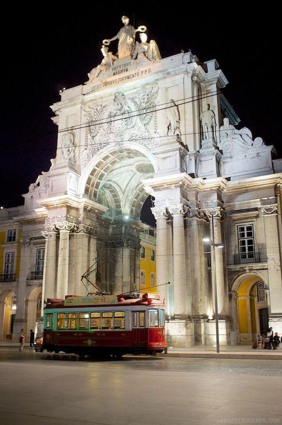 Lisboa. Praça do comércio.