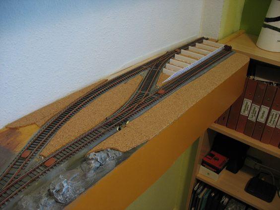 Maqueta de modelismo ferroviario