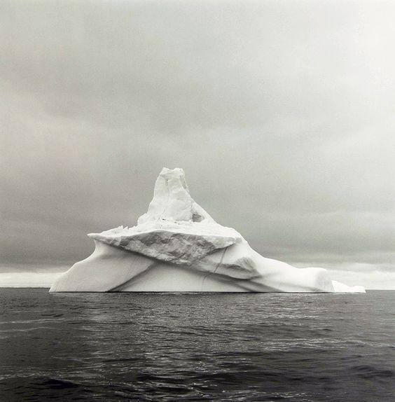 "Lynn Davis, ""Disko Bay, Greenland"" (1986)"