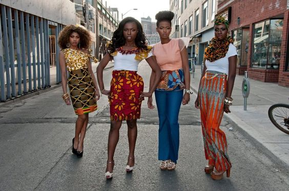 Any of these looks can be everyday street wear..... New Ghanian-Canadian Label Kaela-Kay Collections by Catherine Addai