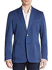 Cotton & Silk Sportcoat