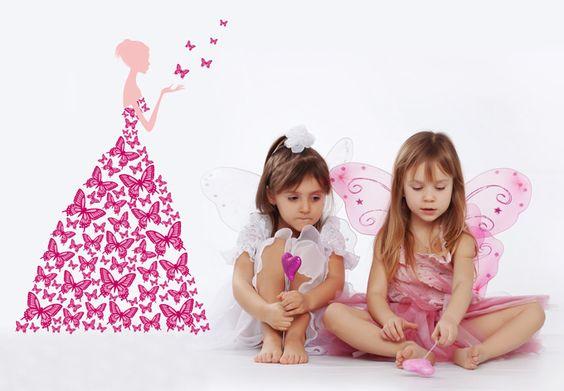 Kinderkamer Prinsessenkamer Inrichten : ... 49,90 € meisjeskamer ...