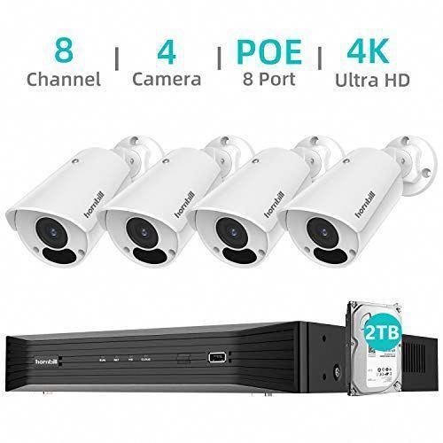Our 4k Ultra Hd Poe Security Camera System Provides You Sharper Details Even W Security Camera System Wireless Home Security Systems Outdoor Security Camera
