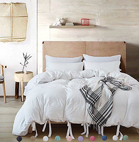 Bowknot Bow Tie Ribbon Butterfly Bowtie Duvet Cover Set Meaning4 Polyester Full Or Queen Size White 3 Pcs 1 Duv Bed Linens Luxury Bed Linen Design Bedding Sets