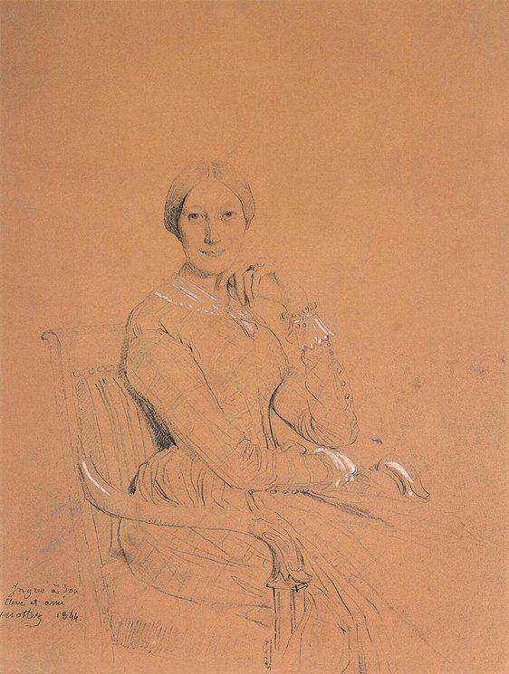 Portrait of Madame Victor Mottez