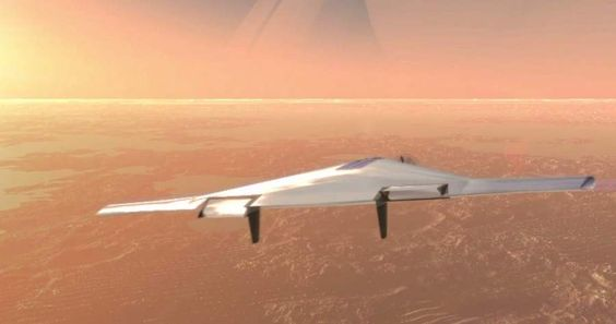 Venus inflatable airplane concept  , - ,   Aerospace firms�...