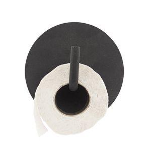 Dérouleur de papier WC en aluminium couleur nori mat signé House Doctor.