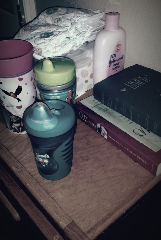 """Night"" In Shining Armor - share what treasures your night stand holds in this #MommyReality challenge"