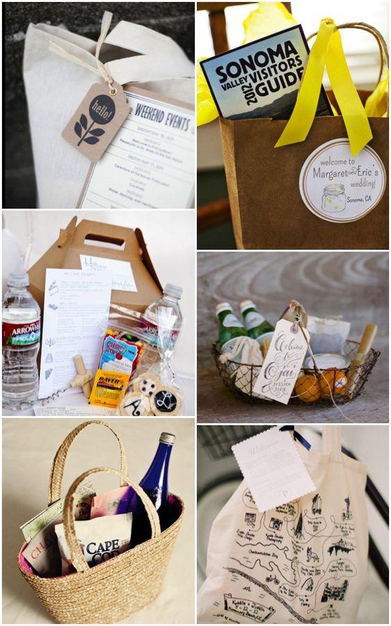 Ideas para un pack de bienvenida/Ideas for a welcome pack