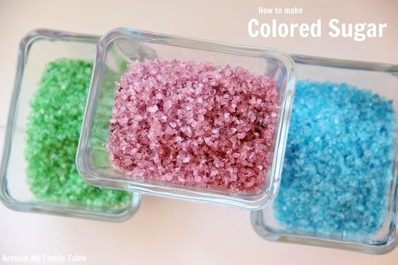 How to make colored sugar: Cake Cupcakes, Recipes Desserts, Cakes Cupcakes Cookies, Cookies Cupcakes, Cupcake Cookies, Cupcake Cakes, Birthday Cake