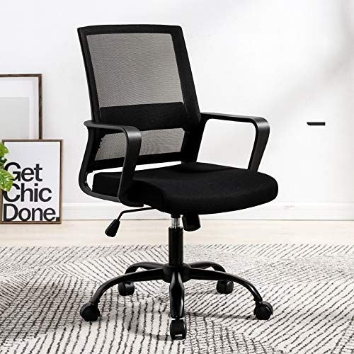 Dashou Wuzpx Furnitures To 329 Computer Chair Office Chair Home Back Chair Comfortable Simple Desk Black Home Furniture Simple Desk Comfortable Computer Chair