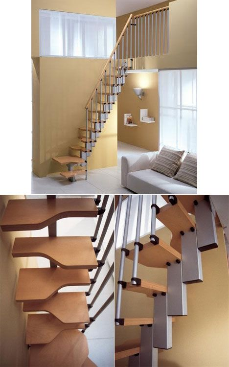 Staircases space saving and spaces on pinterest for Misterstep mini plus