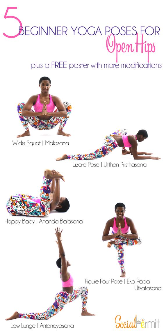 Yoga for Beginners: Check out these beginner yoga poses for more open hips…