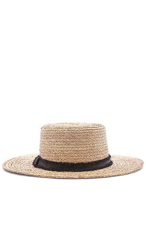 Hat Attack Classic Boater Hat In Natural Revolve Shlyapa Golovnye Ubory