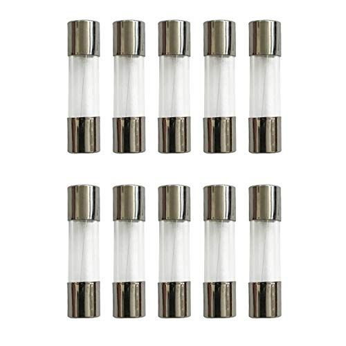 2 Amp Glass Fast Blow Fuses 5 X 20mm 10 Pack