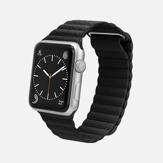 Magnetic Apple Watch Band 38mm Grey Casetify