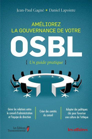 Les OSBL sont plus importants et influents que jamais dans la collectivité québécoise. De nos jours, les leaders d'OSBL, d'organismes caritatifs, d'ordres professionnels, d'associations industrielles et autres, cherchent à atteindre des standards élevés de gouvernance afin de répondre aux attentes sans précédent de leurs membres, de leurs bailleurs de fonds, des gouvernements et du public en général.
