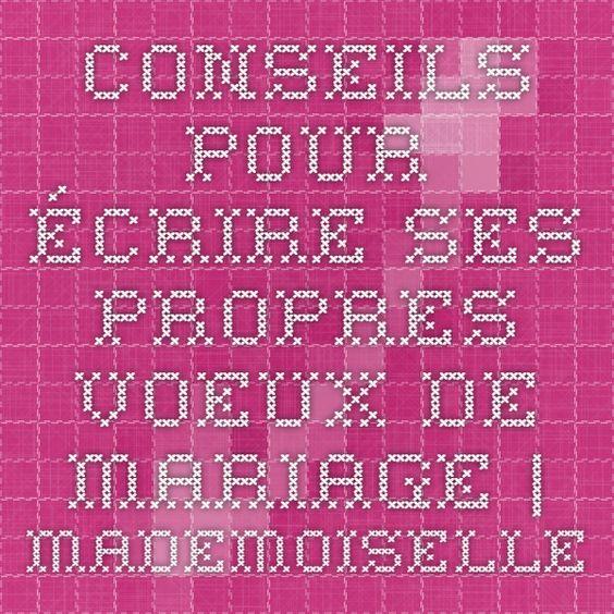 Conseils pour écrire ses propres voeux de mariage   Mademoiselle Dentelle
