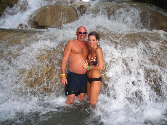 Dunn's River Falls, Ocho Rios Jamaica.