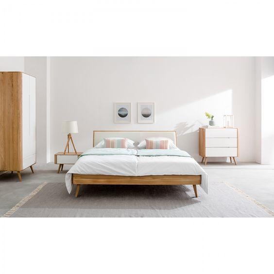 Die besten 25+ Bett 180x200 Ideen auf Pinterest Bett 180, Massiv - schubladenbett massivholz ideen