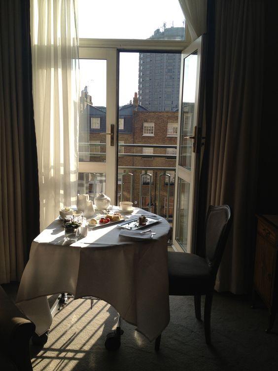 Tea at the Berkeley Hotel London