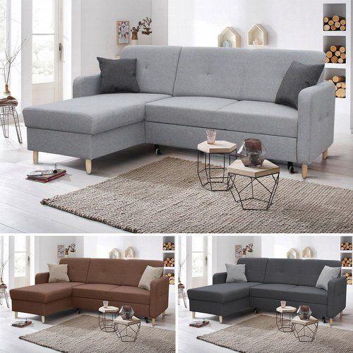 Ecksofa Oslo Mit Schlaffunktion Scandinavian Design Couch Sofagarnitur Sofa Bett Kaufen Bei Hood De In 2020 Ecksofa Betten Kaufen Sofa