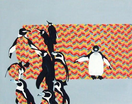Pattern Waddle by Paris Foot | Artfinder