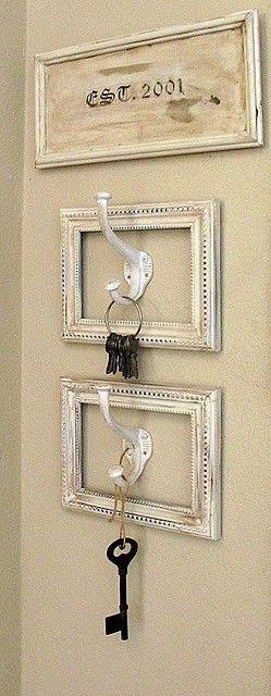 Oversized Key Hooks