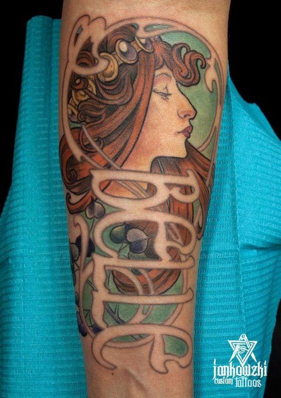 Tattoo by Jankowski.