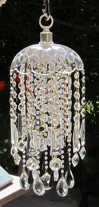 crystal wind chime sun catcher. by Leah: