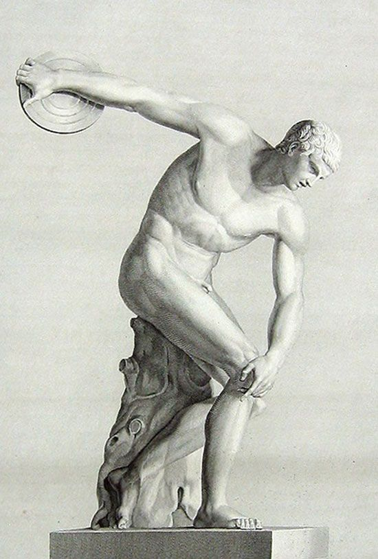 Discobolo De Pierre Bouillon Fundamentos De Fotografia Artistas Dibujos Artisticos