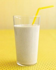 banana oat smoothie.
