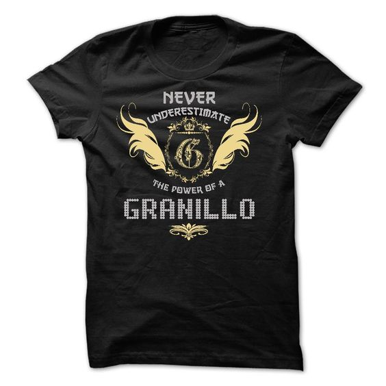Awesome T-Shirt for you! ORDER HERE NOW >>>  http://www.sunfrogshirts.com/Funny/GRANILLO-Tee.html?8542