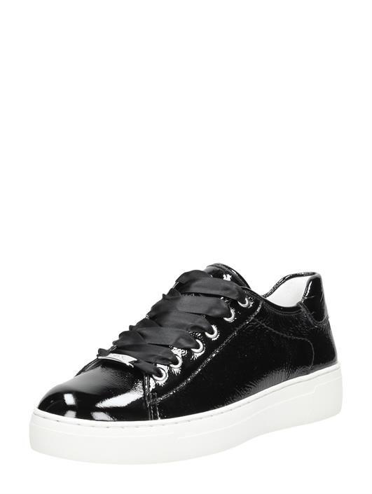 Courtyard zwart | Sneaker, Plateauzolen, Zwart
