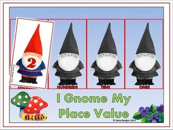 PLACE VALUE - Keep this game handy in your classroom to reinforce place value through the thousands place.