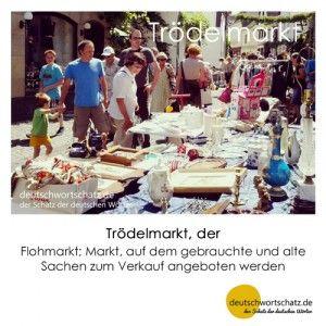 Trödelmarkt_Deutsch_lernen_deutschwortschatz_Galerie