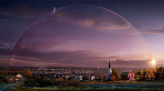 Primeiras cenas de Under the Dome, série inspirada em livro de Stephen King >> http://glo.bo/16KDpK9