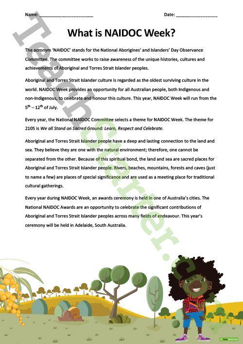 NAIDOC Week Resource Pack Teaching Resource