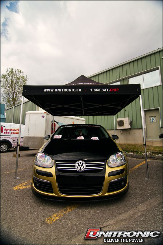 RMS Official Car in the Unitronic Tent!  Check out our website:  www.unitronic-chipped.com