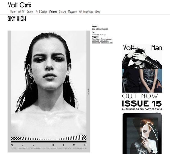 Jessie Harris on Volt Magazine