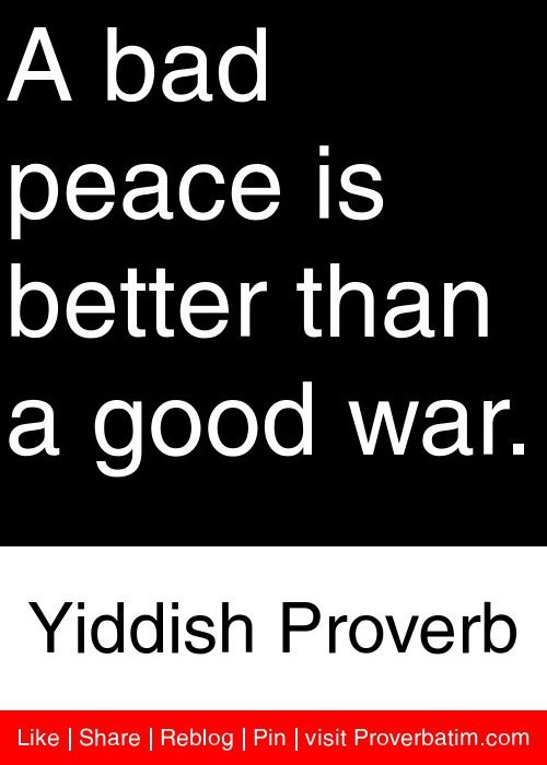 "Good and Bad Lessons from ""The Good War"""