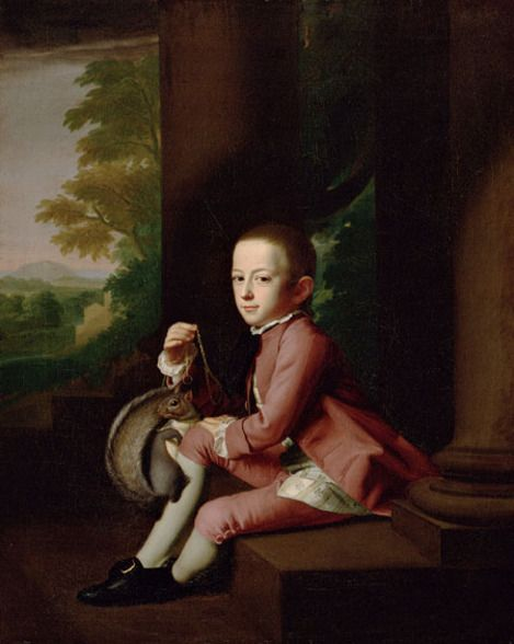 John Singleton Copley, Daniel Crommelin Verplanck (1771), from the collection of The Metropolitan Museum of Art.: