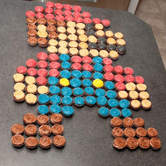 mario :) by elise's cupcake creations