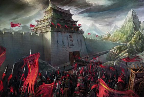 Emperor Han-Wu's army, China