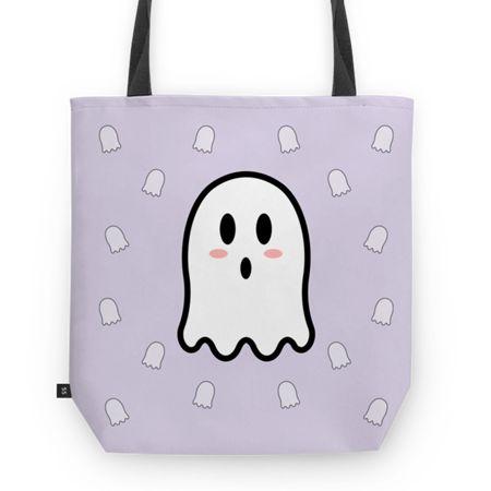 Bolsa Miss Boo - II | Desenho/Estampa de @danistarart | A venda na @colab55 | #funny #fun #divertido #fantasma #fantasminha #ghost #boo #buu #geek #desenho #anime #bolsa #bag #totebag #sacola #estampa #pattern