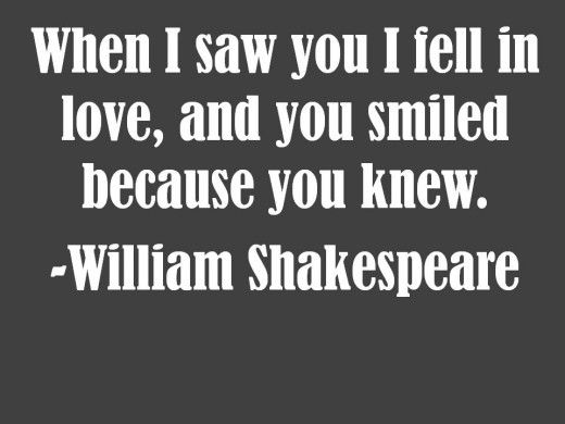 Quotes About Love At First Sight In Romeo And Juliet : Love Quotes: Romantic Quotes about Love William shakespeare, The end ...