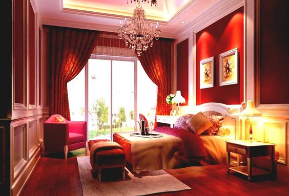 Sexy Bedroom Design Ideas | ... Ideas Bedroom Decorating Ideas For Couples Red Romantic Bedroom Design